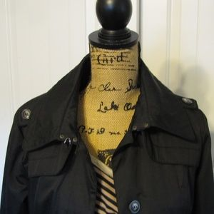 Hawke & Co Jackets & Coats - Hawke & Co Women's Small Black Jacket Trench Coat